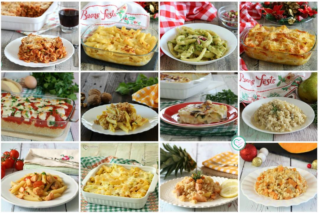 Ricette primi piatti Natale Capodanno