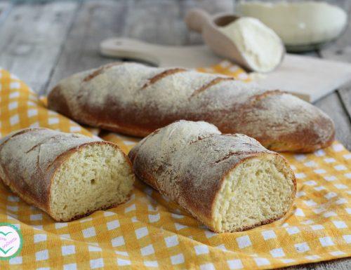 Pane di semola rimacinata a lunga lievitazione