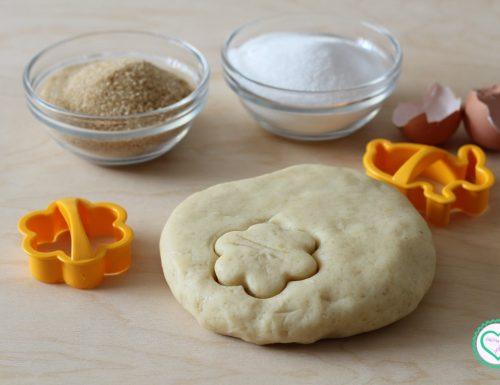 Pasta frolla con zucchero di canna e strutto (facile da stendere)