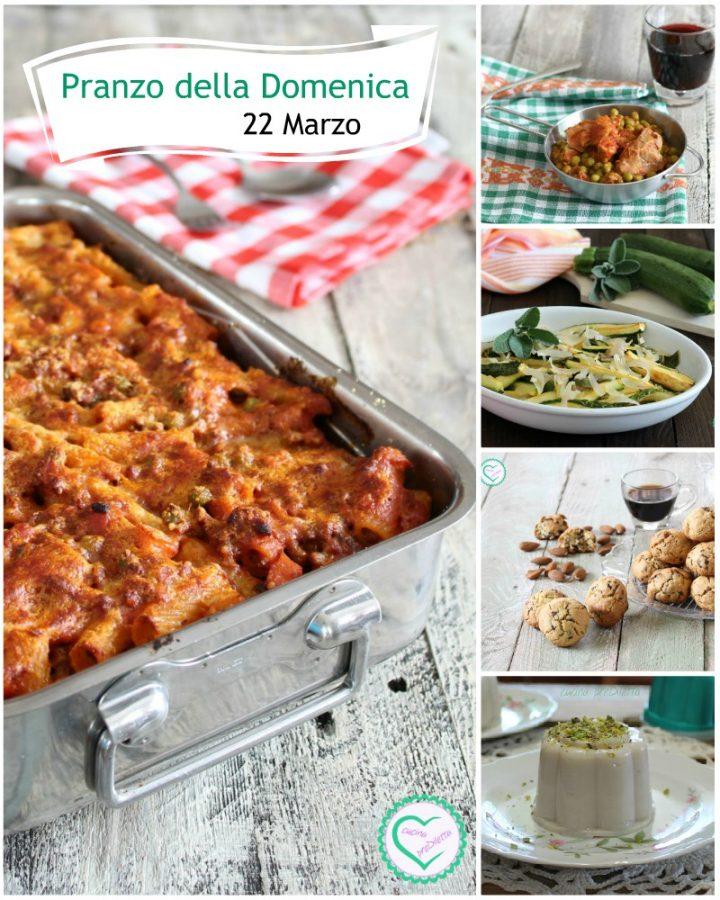 Pranzo della Domenica 22 Marzo