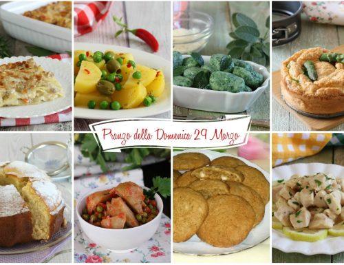 Pranzo della Domenica (29 Marzo)