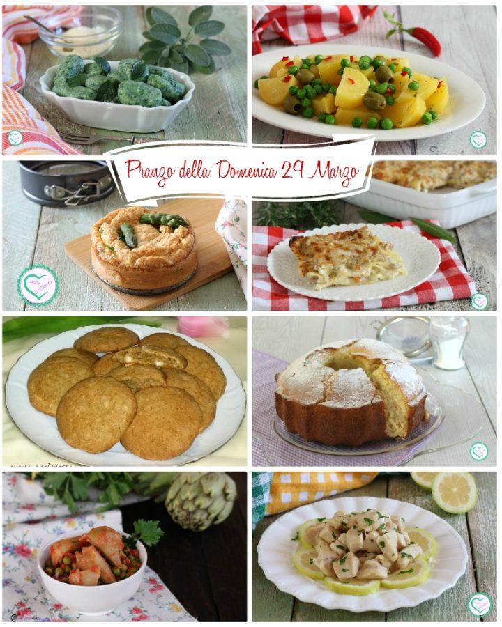 Pranzo della Domenica 29 Marzo