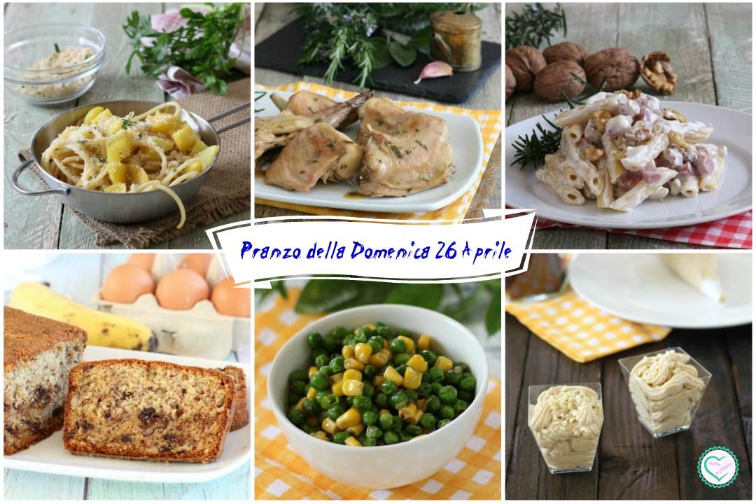 Pranzo della Domenica 26 Aprile