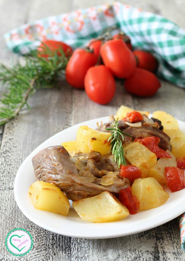Tacchino al forno con patate
