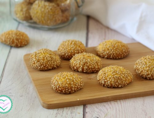 Biscotti sesamini (Biscotti ca ciciulena)
