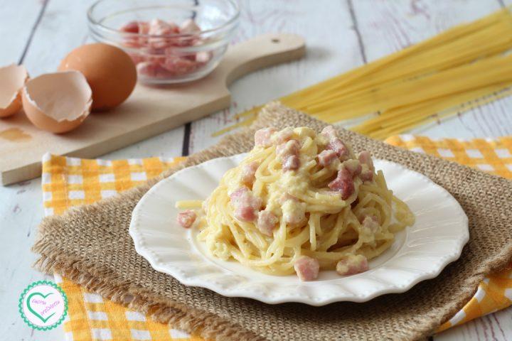 Carbonara con pancetta