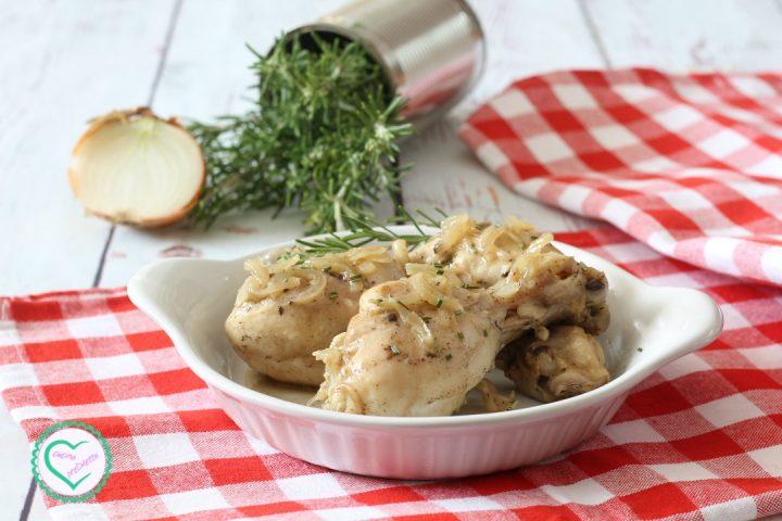Pollo all'aceto alla siciliana