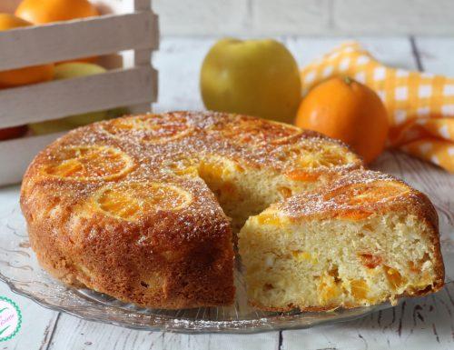 Torta di arance rovesciata