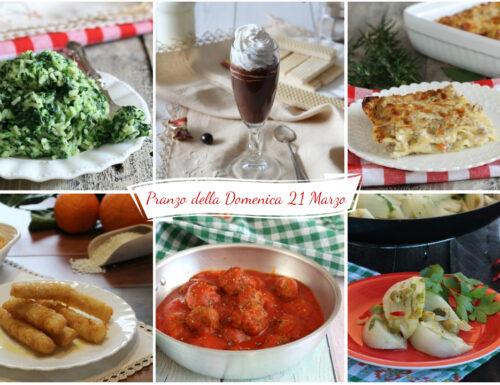 Pranzo della Domenica (21 Marzo)