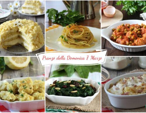 Pranzo della Domenica (7 Marzo)