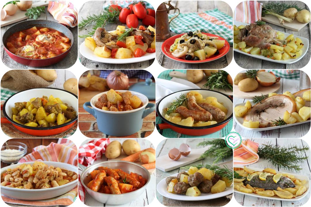 Secondi con contorno di patate