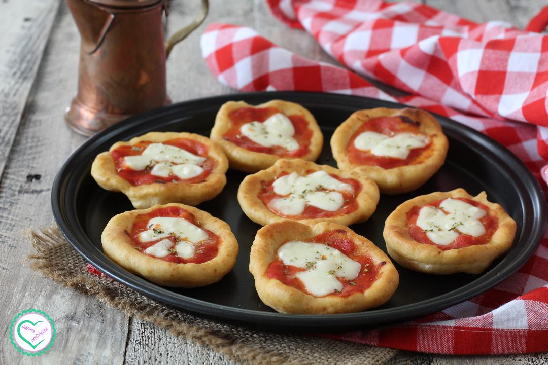 Pizzette fritte senza lievitazione
