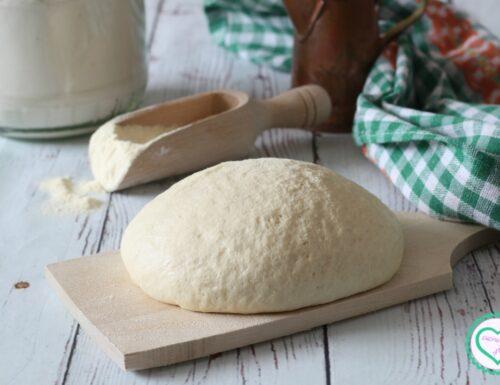 Impasto con planetaria per pane e pizza