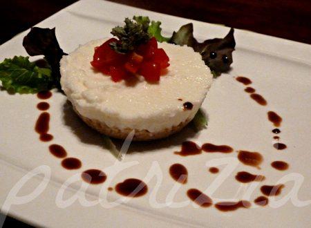 cheesecake salato, non la solita mozzarella e pomodoro