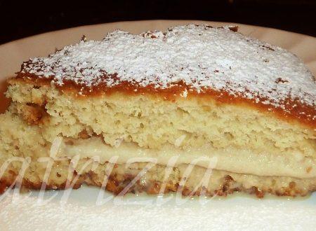 torta light con crema di gelato allo zabaione