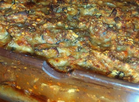 passatelli gratinati funghi e gamberetti
