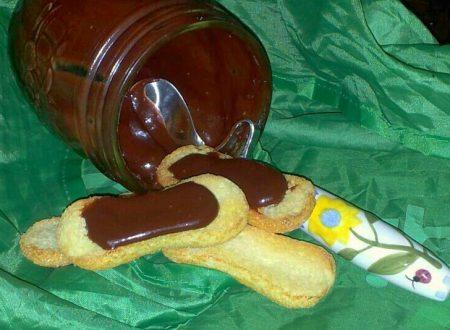 marmellata di fragole e sua variazione..cioccolato!!!!!