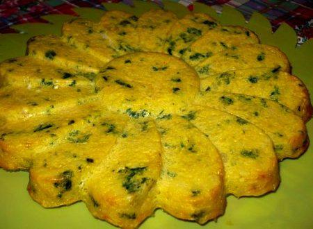 torta di riso, gamberetti e spinaci…ricetta del riciclo