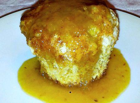 muffin all'uva con sciroppo d'uva bianca