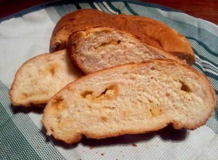 pane dolce alla birra e cioccolato bianco