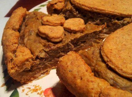 crostata semintegrale all'olio d'oliva con carciofi, ricetta light
