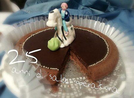 torta cioccolatino speziata per il mio 25° di sala op