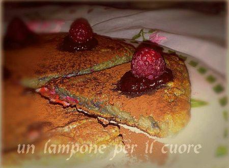 """frittata dolce ai lamponi con cioccolata ai lamponi per """" un lampone nel cuore """""""