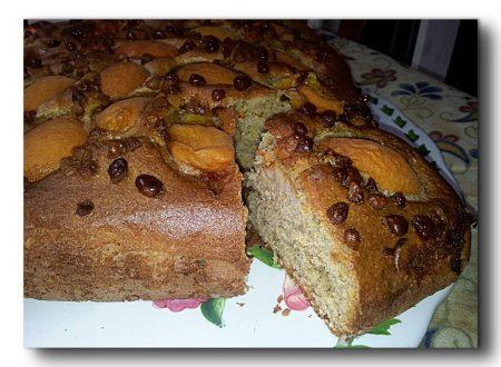 torta integrale alle albicocche, ricetta light