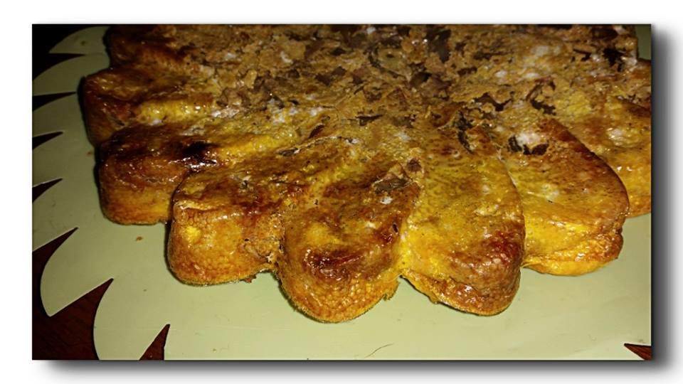 frittata di carciofi al pimento