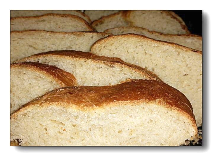 pane olio fettepane all'iolio a fette