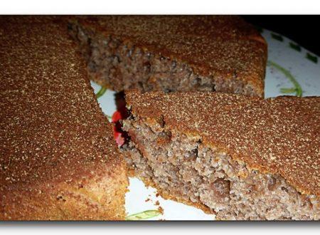 torta integrale alla melagrana e miele, no burro/olio no uova, ricetta light