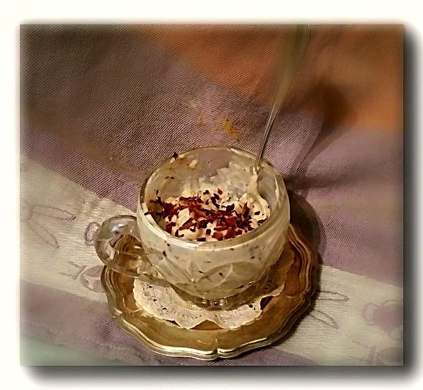 coppa di crema di kefir
