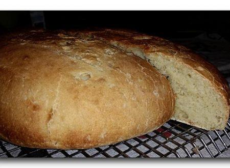 pane di grano duro a lenta lievitazione con kefir