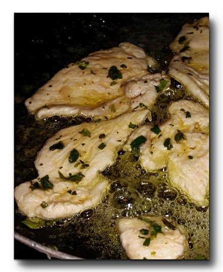scaloppine mediterranee