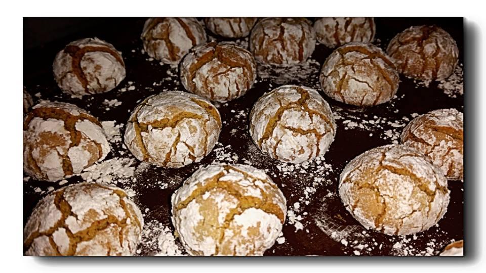 ghoriba ai pistacchi, biscotti marocchini