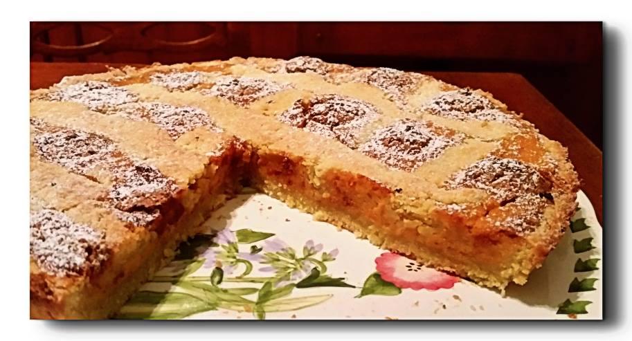 torta di zucca e amaretti