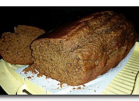 plumcake integrale orzo, miele, olio e kefir