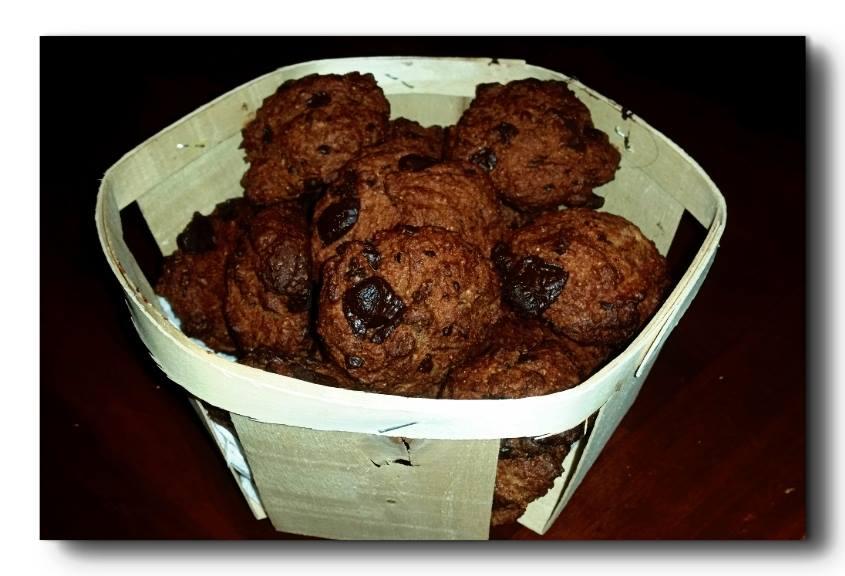 biscotti di farro al cacao