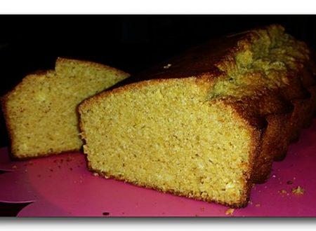 plumcake al limone con farina di riso integrale, ricetta  light