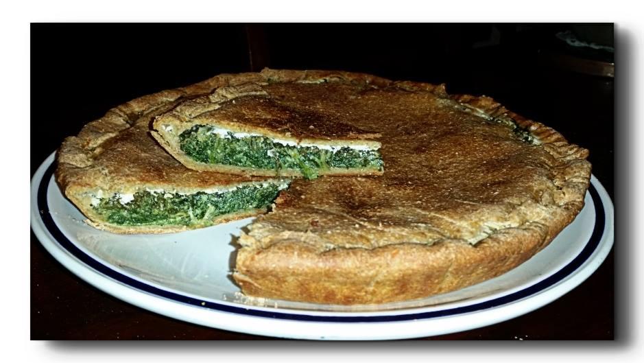 crostata di spinaci