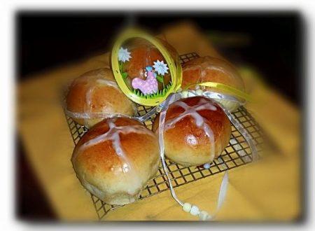 hot Cross Buns, panini dolci, ricetta anglosassone