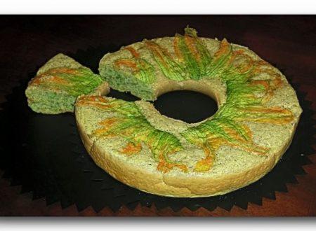torta integrale soffice alle zucchine