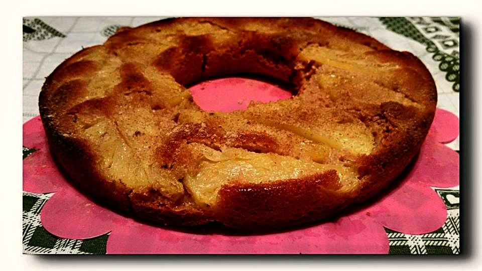 torta rovesciata ananas integrale