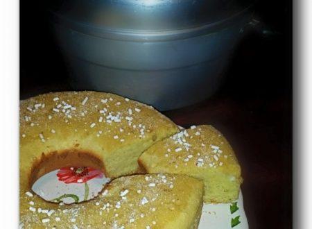 ciambella alla panna nel fornetto Versilia