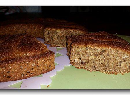 torta integrale di meusli al caffè speziato