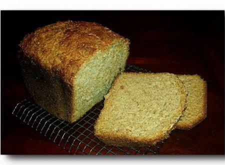 pan brioche integrale con fiocchi di avena, ricetta con lievito madre essicato