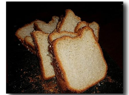 pan brioche al cocco con lievito madre essicato