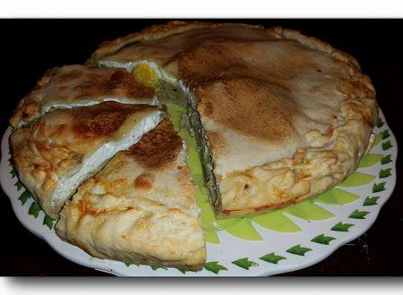 torta pasqualina ai carciofi, con pasta matta allo yogurt, ricetta ligure