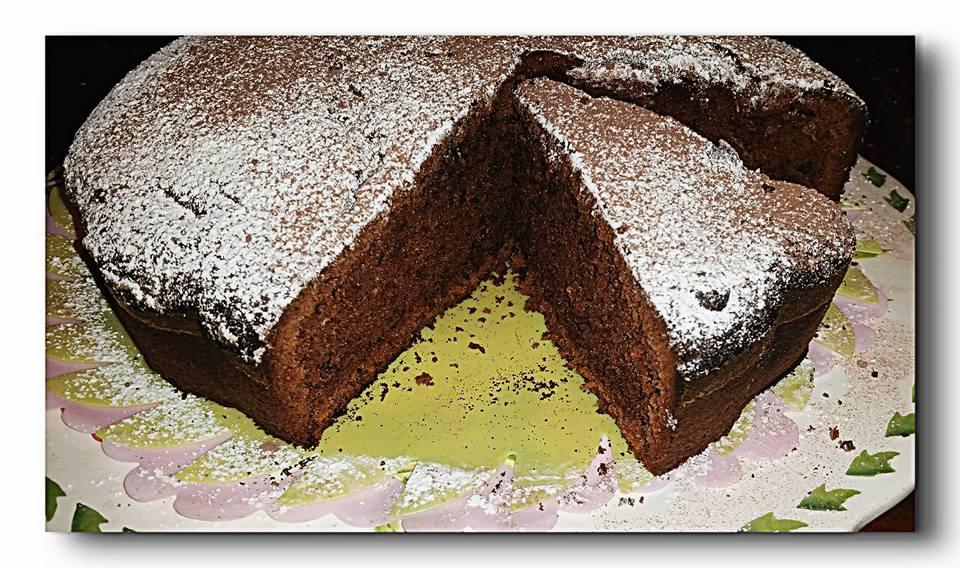 torta cioccolato e cacao