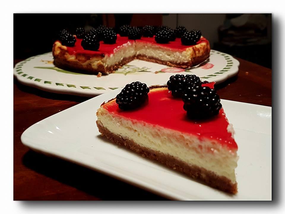 dessert lamponi more